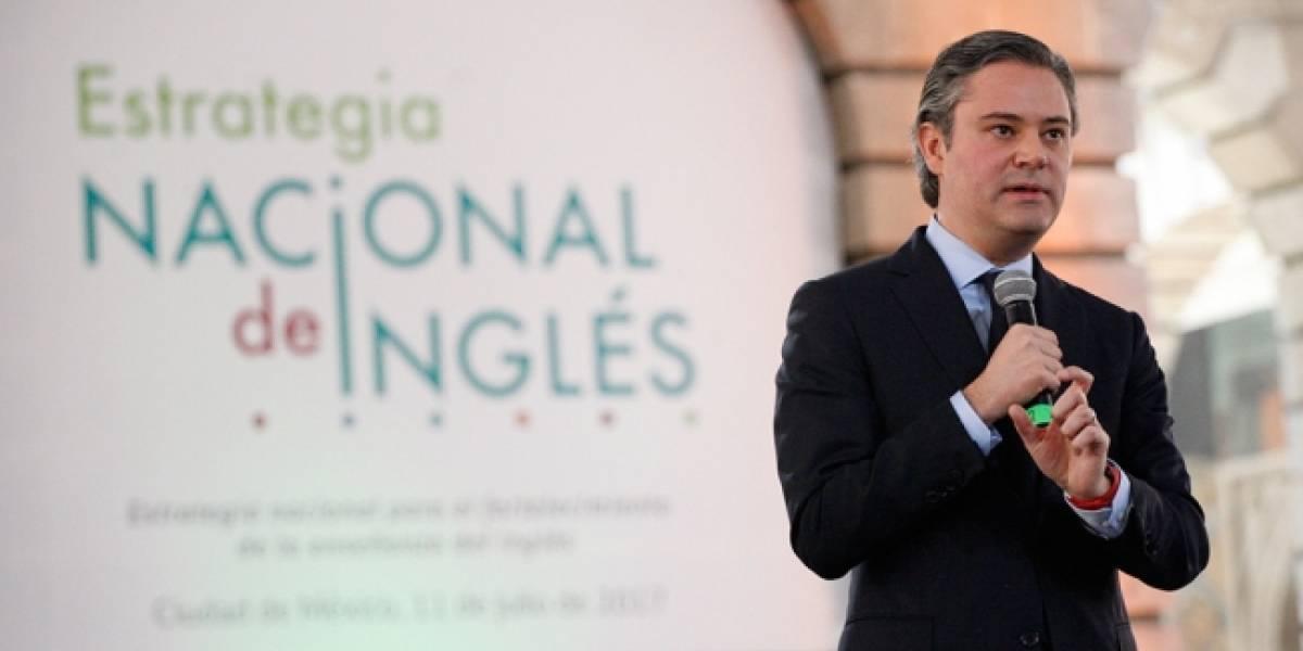 En agosto iniciará proceso de selección para maestros de inglés: Nuño