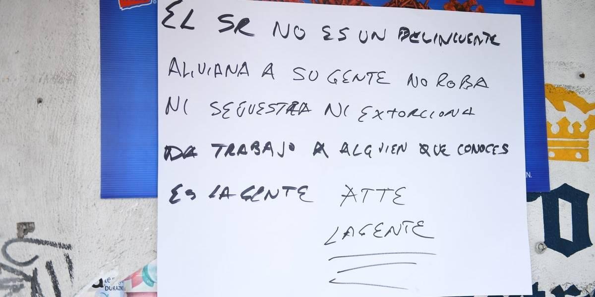 Aparecen mensajes en apoyo a 'El Ojos', presunto líder del Cártel de Tláhuac