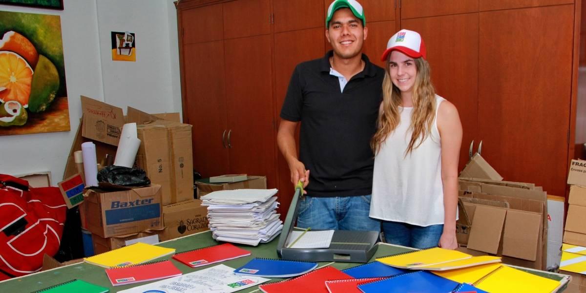 Dos jóvenes caleños le apuntan a cambiar vidas a través de la educación