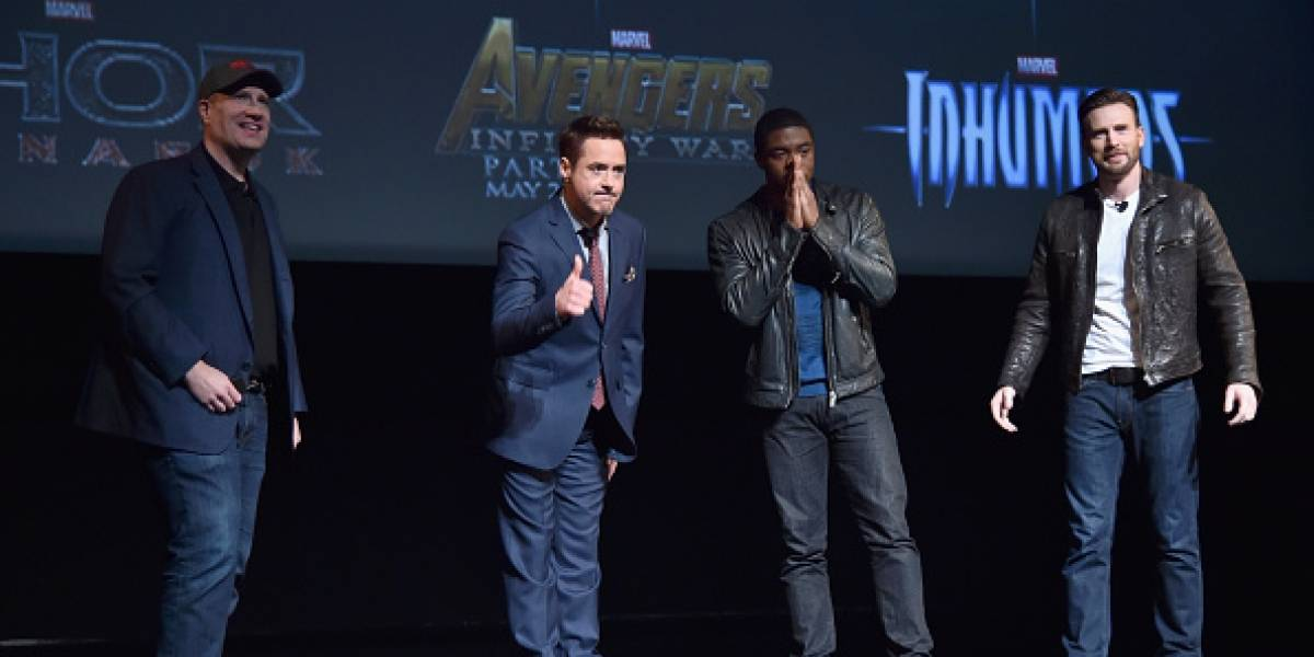 Presentan póster de 'Avengers: Infinity War'