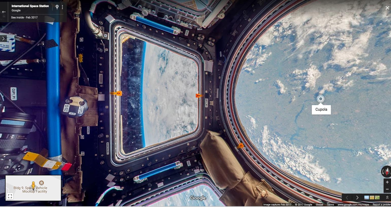 Así luce la Estación Espacial Internacional desde Street View