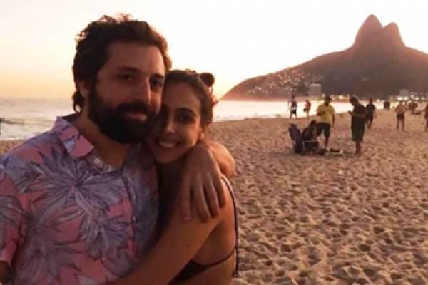 Gregório Duvivier e Giovanna Nader