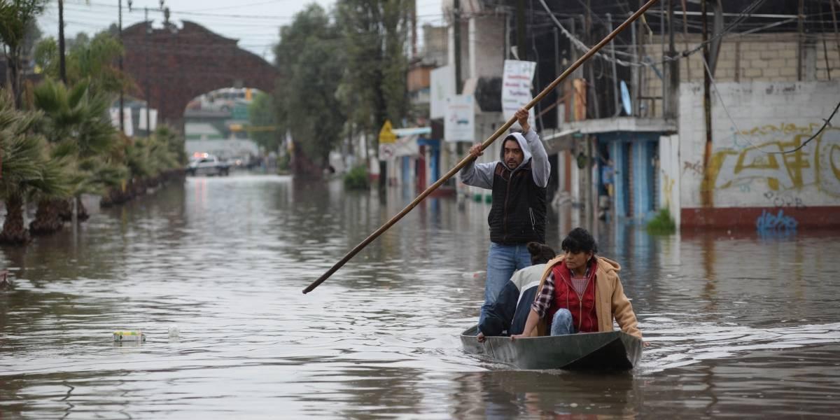 Continuarán lluvias de diferentes intensidades en gran parte del país