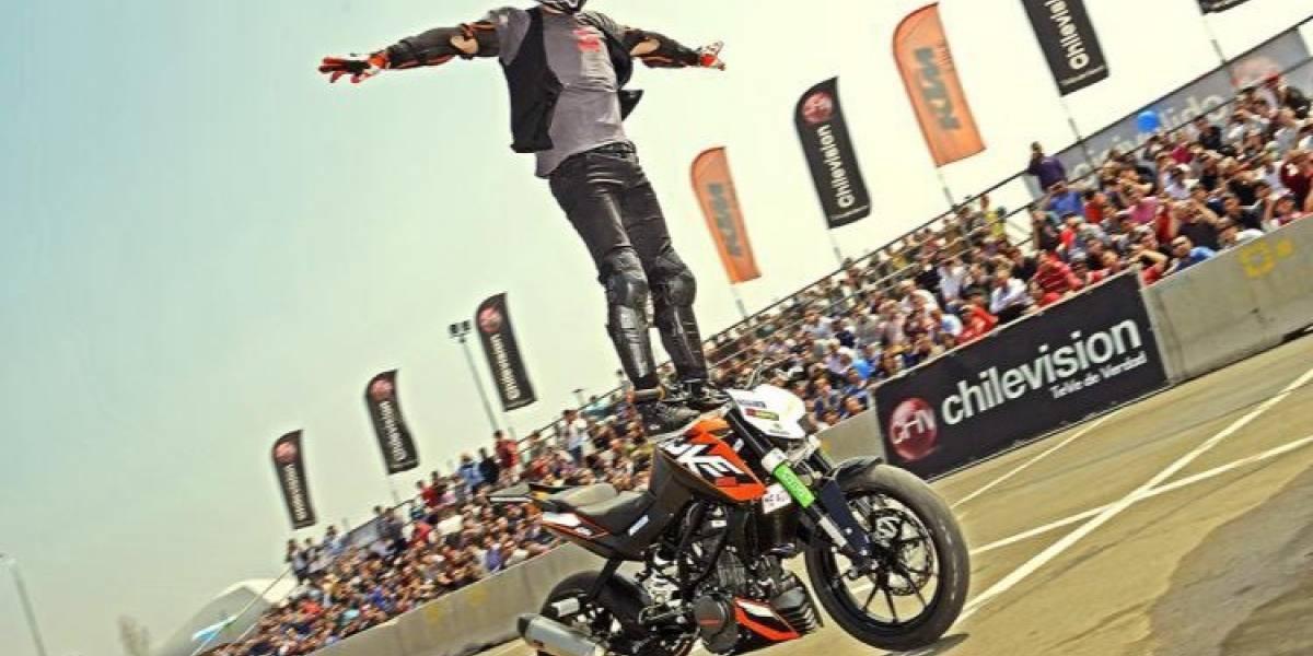 Viene a Chile uno de los mejores stunt riders del mundo, Rok Bagoros