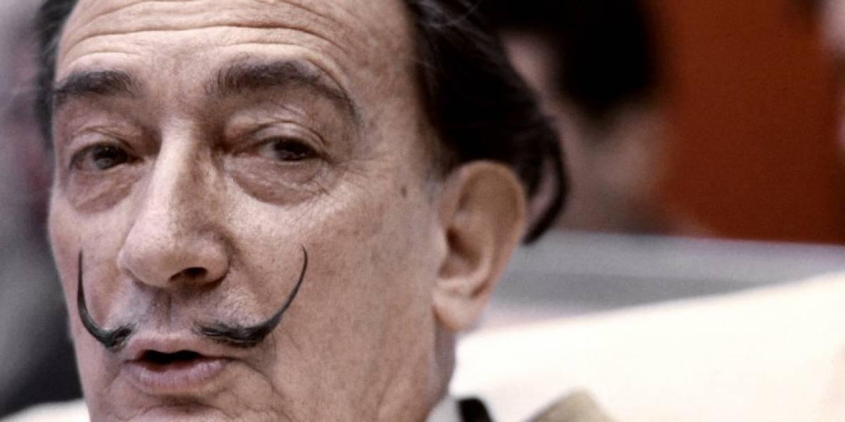 VIDEO. Veintiocho años después de su muerte, Salvador Dalí sale de su tumba