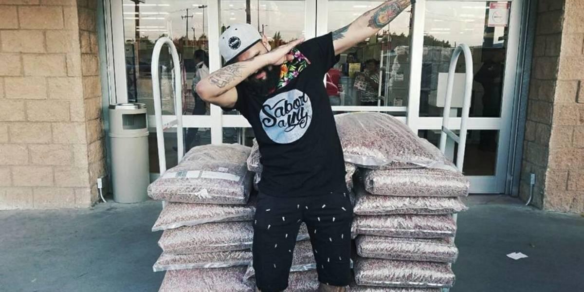 Aprovecha error de supermercado, compra 450 kilos de croquetas por 333 pesos