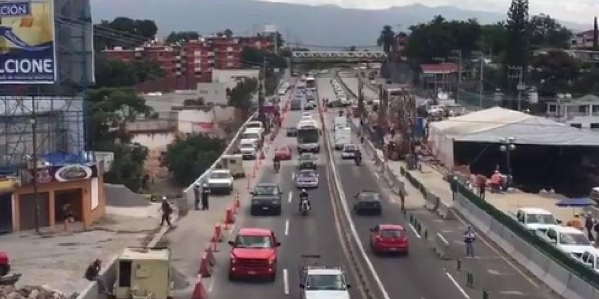 SCT abre cuarto carril del Paso Exprés de Cuernavaca