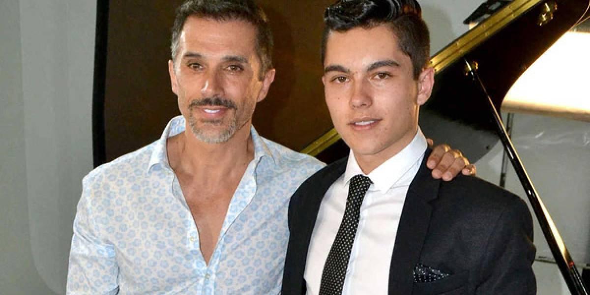 Sergio Mayer se deslinda de su hijo y lo deja volar solo