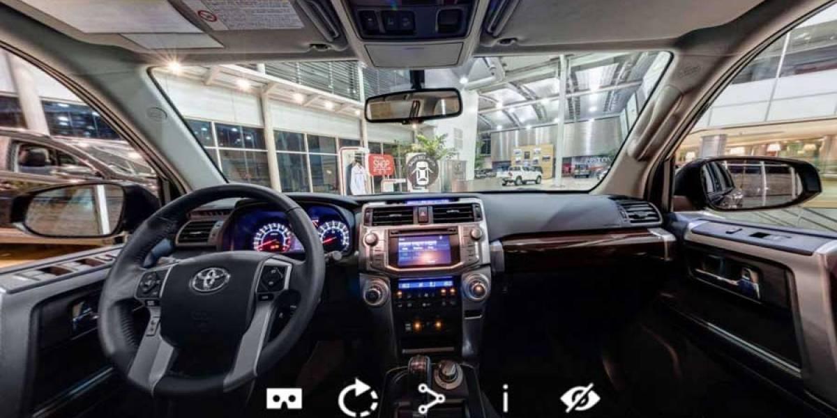 Ya puedes hacer un recorrido virtual dentro de cualquier automóvil Toyota