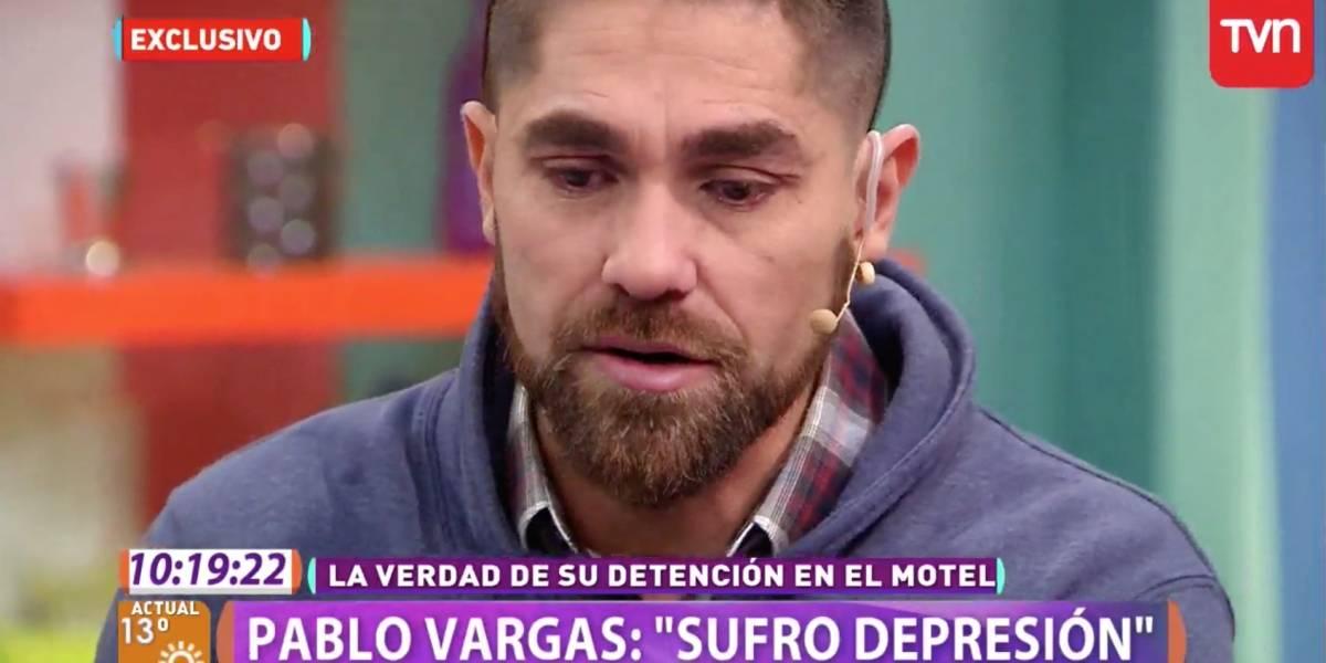 """Pablo Vargas tras su incidente en el motel: """"Tengo depresión"""""""