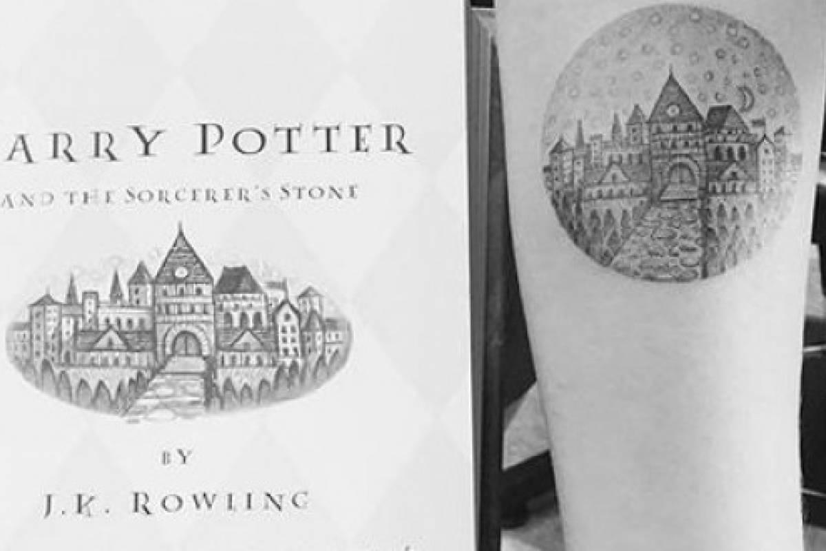 Ideas De Tatuajes Inspirados En Libros Famosos Harry Potter El
