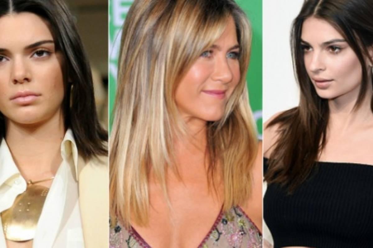 mujeres de pelo liso insprate en los cortes de las famosas para hacer que tu melena lisa se vea siempre bien