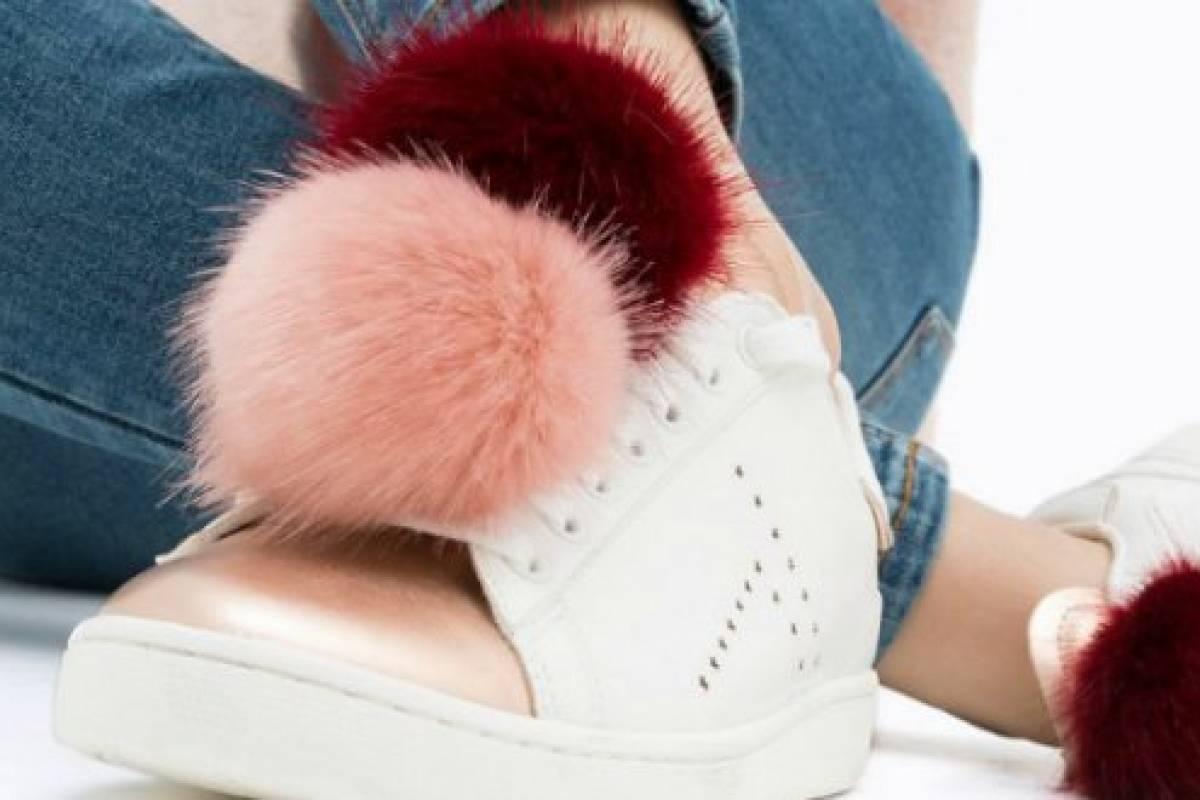 39 pom pom sneakers 39 los zapatos de la temporada que morir s - Pompones para zapatillas ...