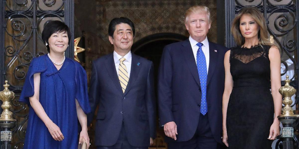 ¿Otra enemiga? La primera dama de Japón fingió no saber inglés para no hablar con Trump