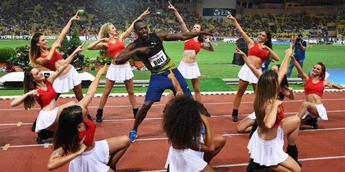 Usain Bolt bajó los 10 segundos por primera vez en el año y se prepara para el retiro