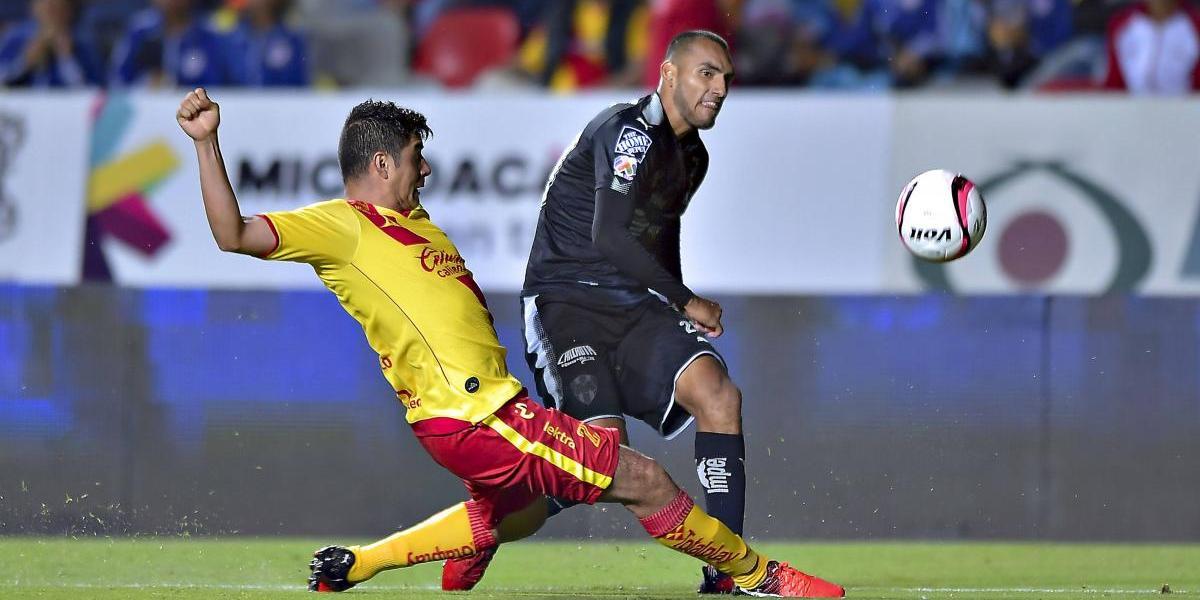 Morelia y Monterrey muestran ambición pero empatan sin puntería