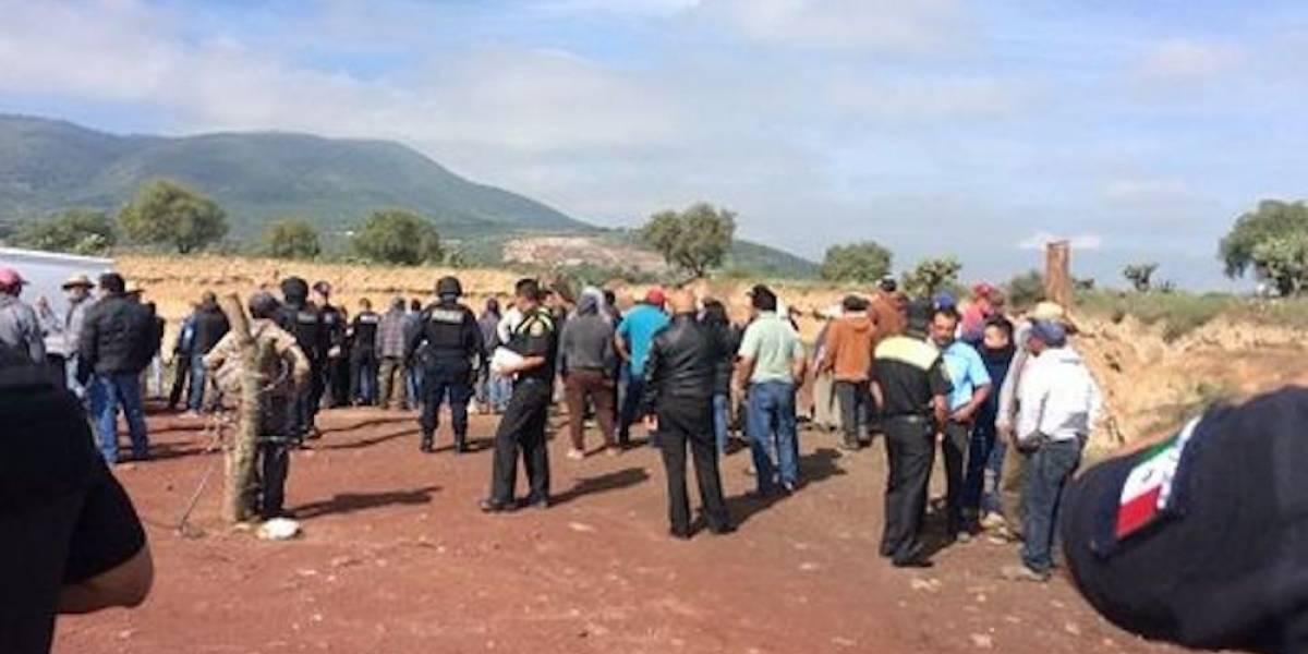 Un muerto y seis heridos tras disputa por mina en el Edomex