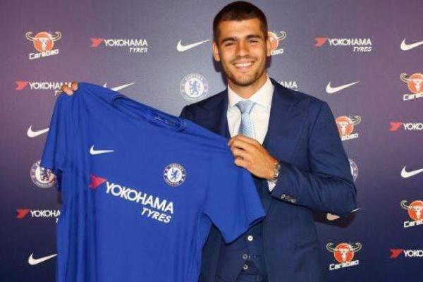 Álvaro Morata jugará en Chelsea / Web Chelsea