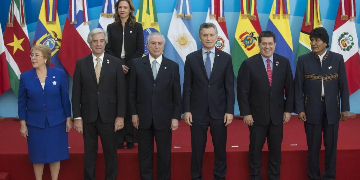 Mercosur pide concertación en Venezuela para que cese violencia