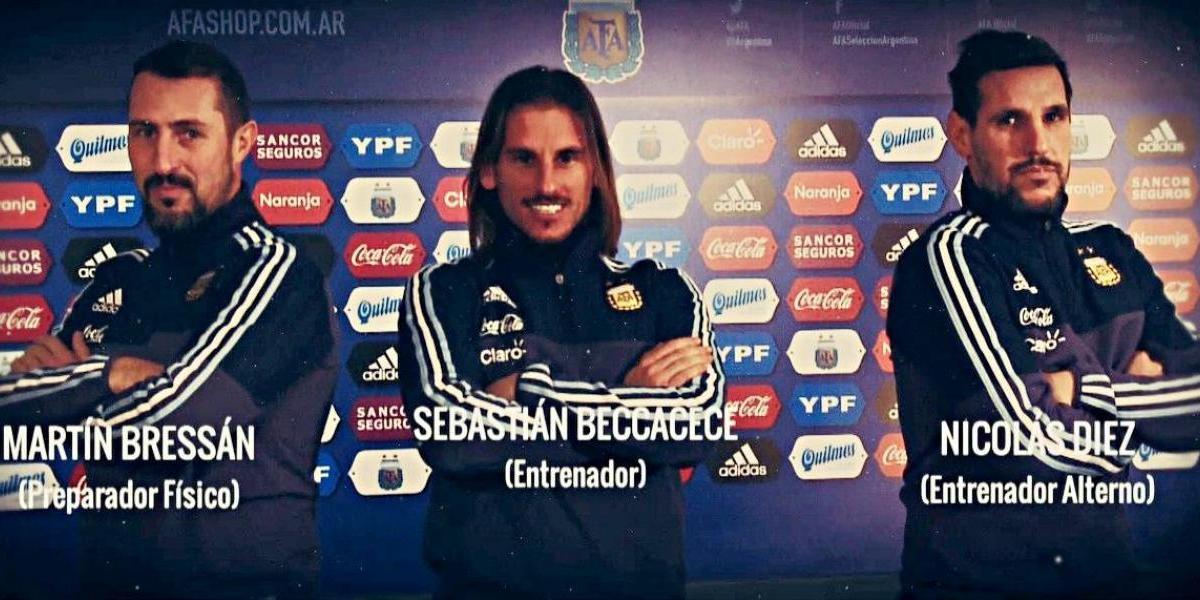 Sebastián Beccacece es el nuevo técnico de la Selección Argentina Sub 20
