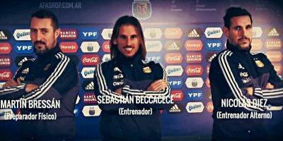 Beccacece se hará cargo de la Sub 20 en Argentina — Doble empleo