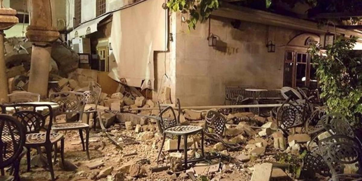 VIDEO. Impactantes imágenes del terremoto en Grecia y Turquía