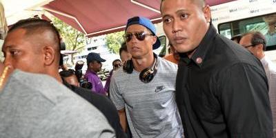 ¿Qué hace Cristiano Ronaldo en Singapur?