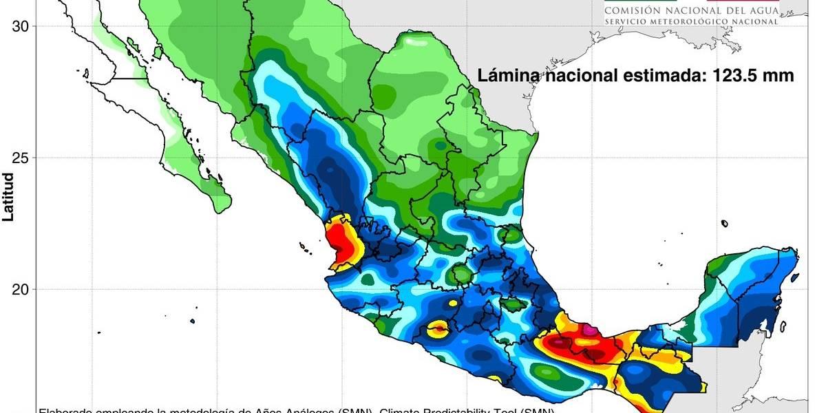 Se forma la depresión tropical Nueve-E en costas de Oaxaca