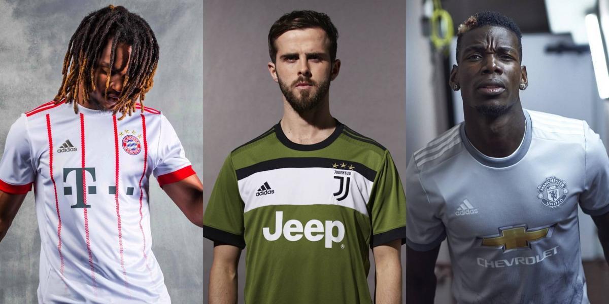 Grandes de Europa presentan uniforme diseñado por sus aficionados