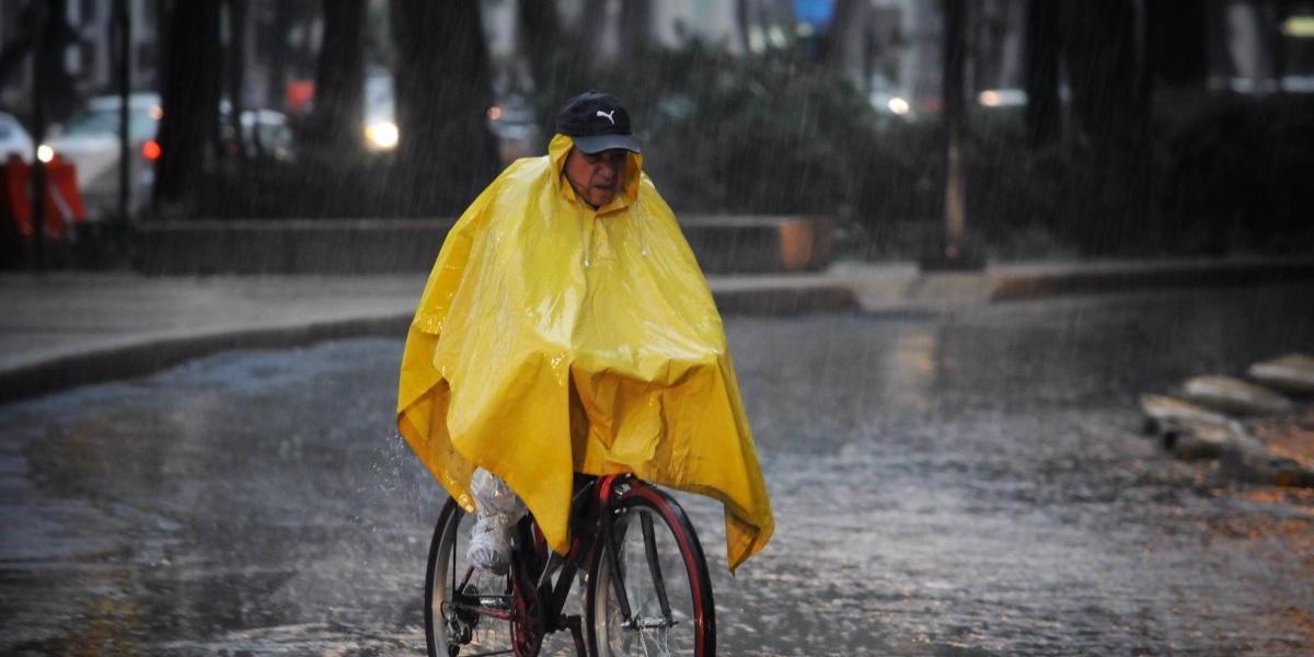 Continuarán este viernes lluvias y tormentas nocturnas fuertes en el Valle de México