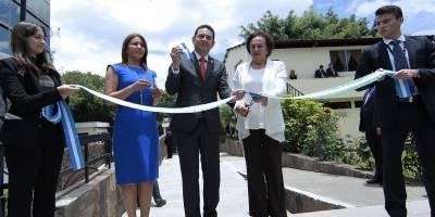 Inauguración de nueva sala PGN