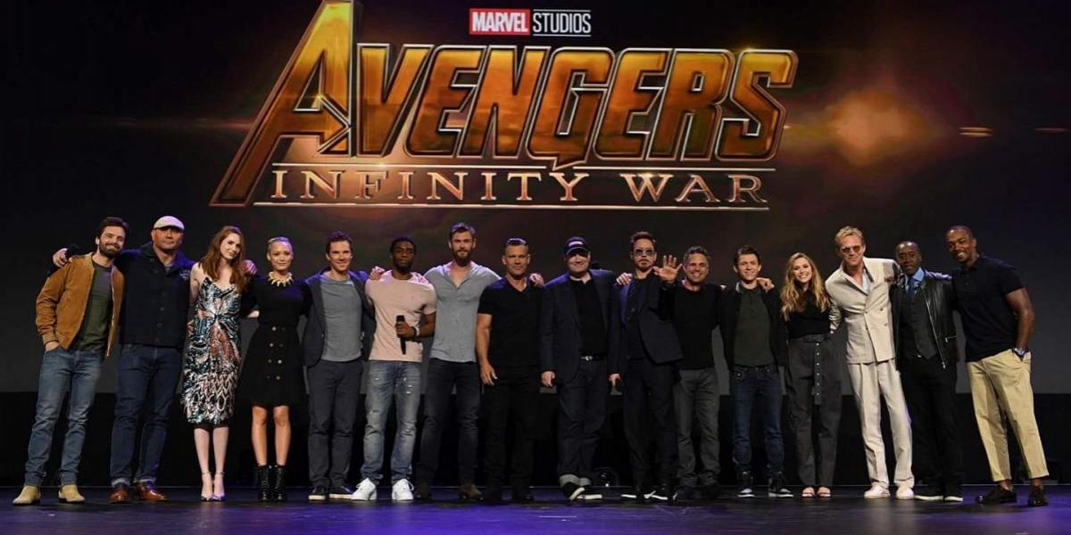 Marvel muestra póster de Avengers: Infinity War en Comic-Con