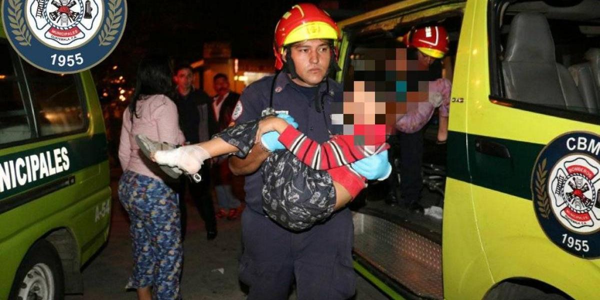 Dos niños heridos tras ataque contra familia que se opuso a asalto