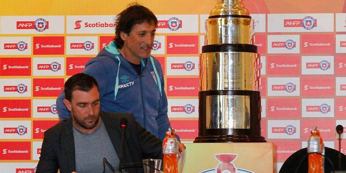 """Guede olvida las polémicas: """"Queremos demostrar que lo que pasó en La Serena fue un accidente"""""""