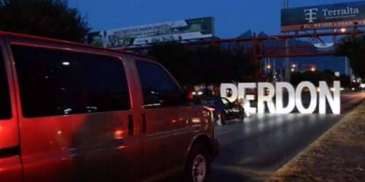La triste verdad del bloqueo en Monterrey para pedir 'perdón'