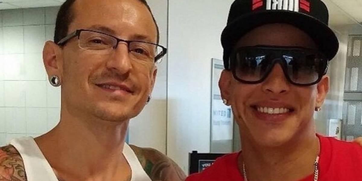 Daddy Yankee lamenta muerte de vocalista de Linkin Park