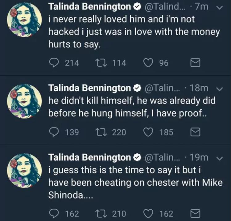 Tuits Talinda Bennington