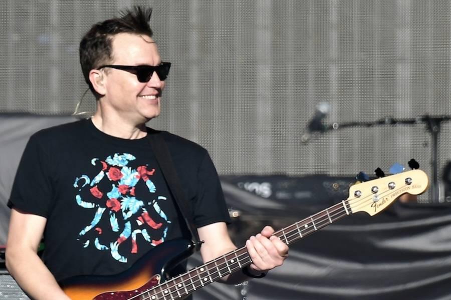 Fãs de Blink-182 não reconhecem Mark Hoppus, baixista da banda