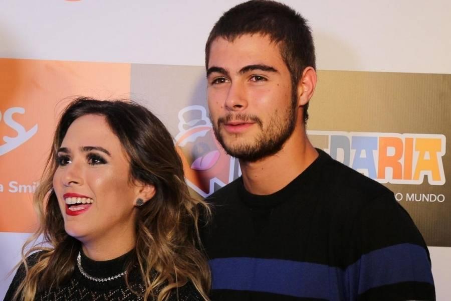 Depois da polêmica com Luan Santana, Rafael Vitti posta foto romântica com Tatá Werneck