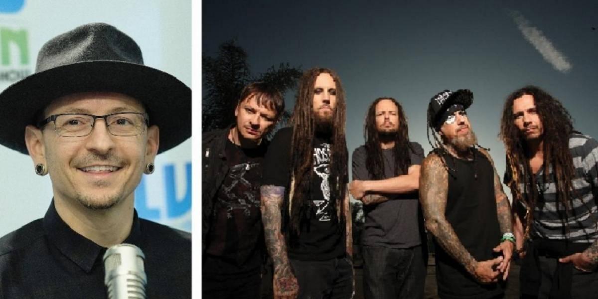 "Guitarrista de Korn se disculpa de haber llamado ""cobarde"" a Chester Bennington"