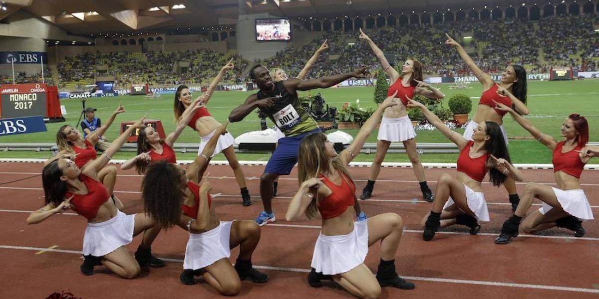 Usain Bolt gana los 100 en su última carrera de la Liga Diamante