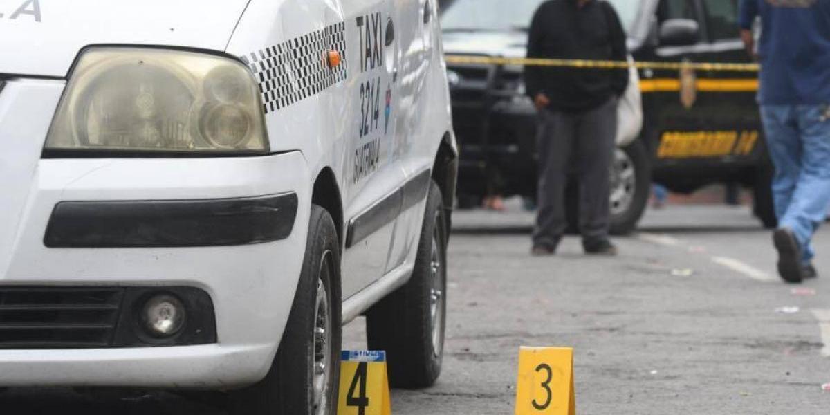 Dos taxistas heridos tras ser atacados por supuestos extorsionistas