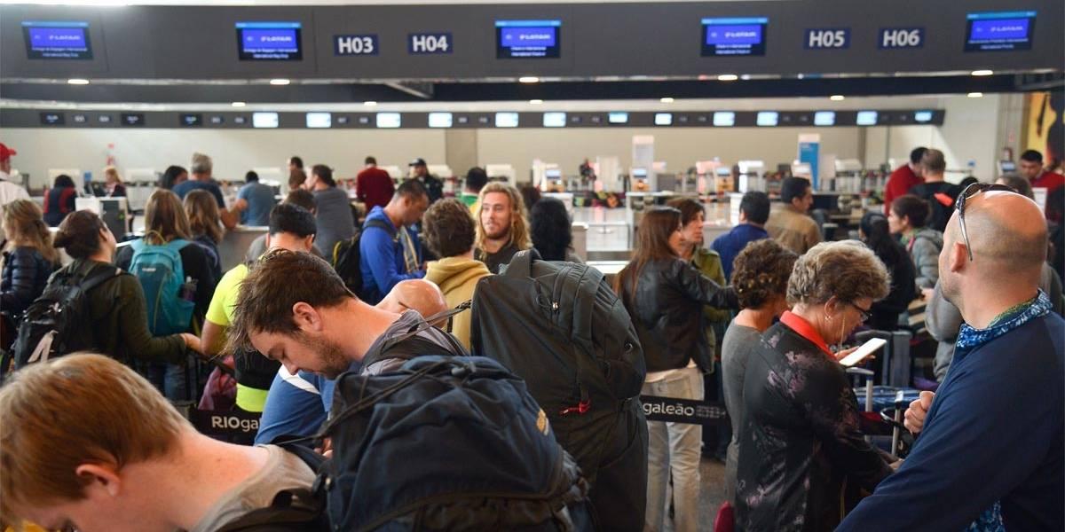 Aeroporto Galeão espera quase 1 milhão de passageiros nas festas de fim de ano