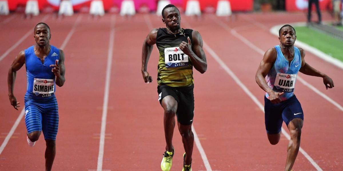 A las puertas de su retiro Usain Bolt brilla en su últimaLiga Diamante