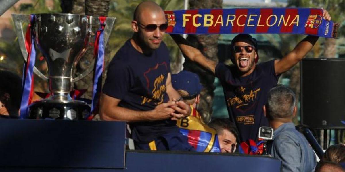 """Mascherano y posible salida de Neymar: """"Lo veo feliz en Barcelona, es el futuro del club"""""""