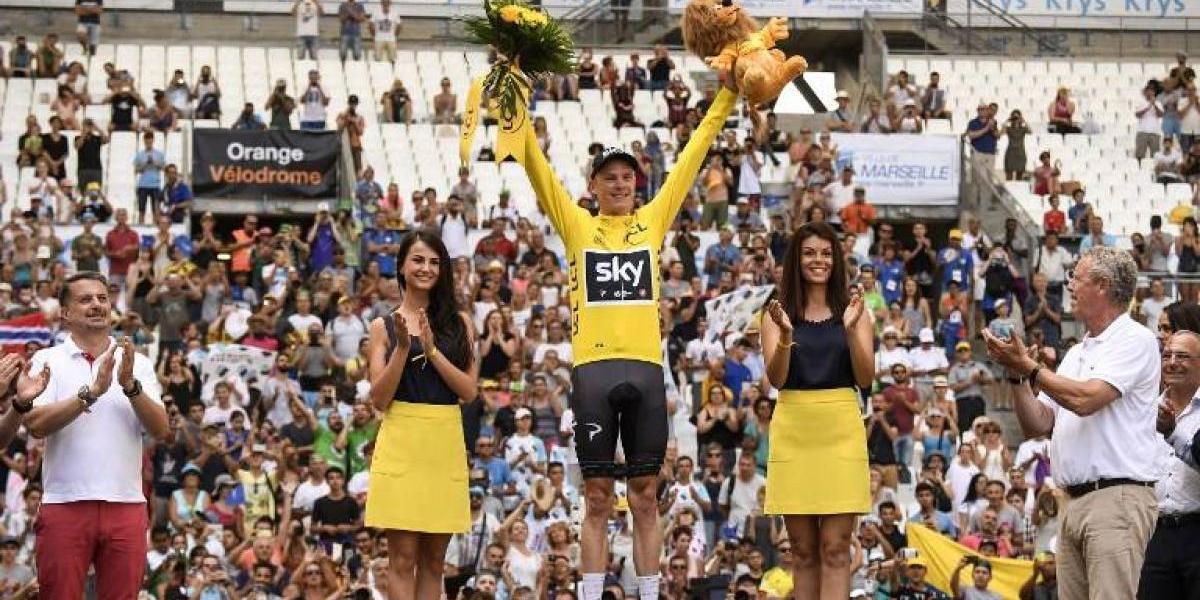 Froome asegura su cuarto Tour de Francia y el colombiano Urán alcanza un notable 2º lugar