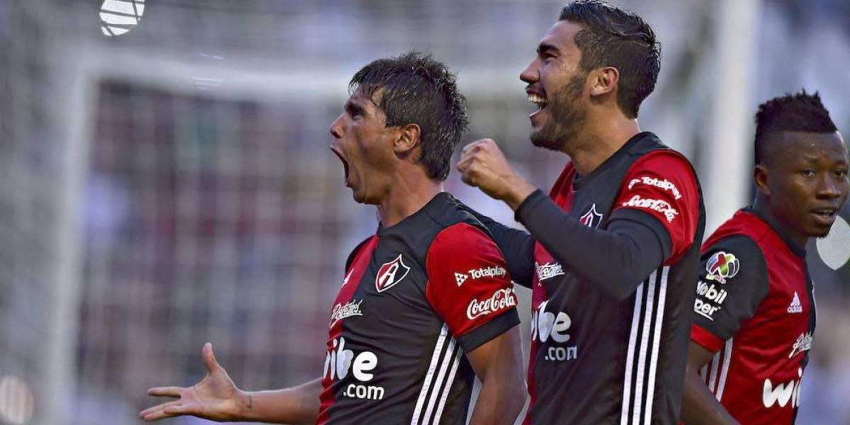 Atlas muestra contundencia y golea al León en debut del Apertura 2017