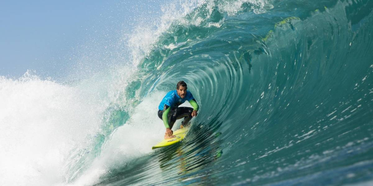 La ola perfecta que sacó aplausos en el último día del Arica Pro Tour