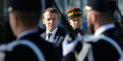 Cae un 10% el nivel de confianza en Macron en un mes