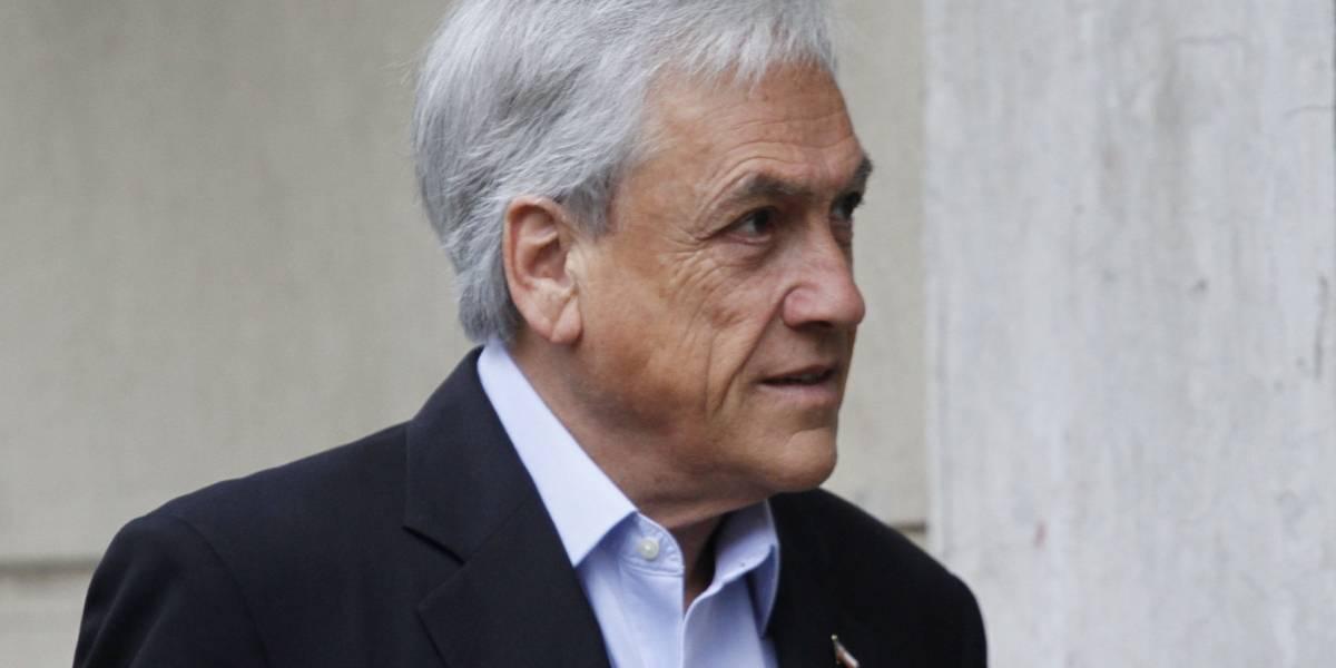 Piñera apoya que Chile Vamos acuda al TC por ley de aborto